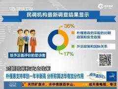 朴槿惠支持率升至54% 创沉船事故以来