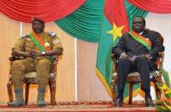 布基纳法索军方接管全国政权 解散过渡