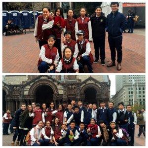 赴美八年级学生波士顿朝圣之旅